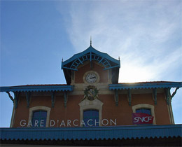 Photo de la Gare d'Arcachon © Michel Buze