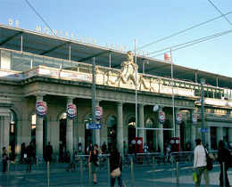 Photo de la Gare Montpellier Saint Roch © Jean-Marie DAVID Dinkley