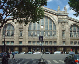 Photo de la Gare du Nord Paris ©
